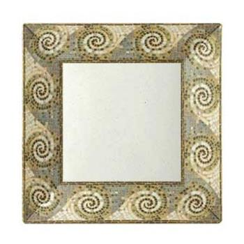 GETML92MO - GET Enterprises - ML-92-MO - Mosaic 16 in Square Plate Product Image