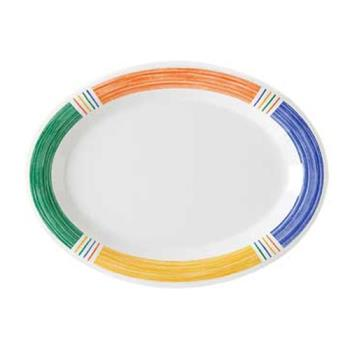GETOP135BA - GET Enterprises- OP-135-BA - Barcelona 13 1/2 in Oval Platter Product Image