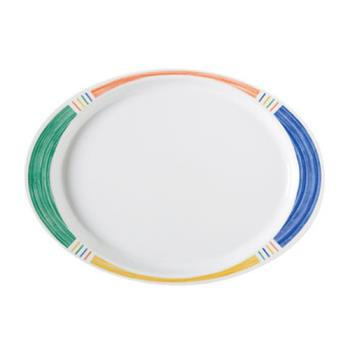 GETOP145BA - GET Enterprises - OP-145-BA - Barcelona 14 3/4 in Oval Platter Product Image