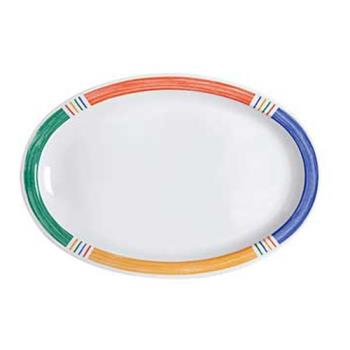 GETOP610BA - GET Enterprises - OP-610-BA - Barcelona Kid 10 in Oval Platter Product Image