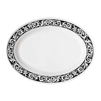 GETOP618SO - GET Enterprises - OP-618-SO - Soho 18 in Oval Platter Product Image