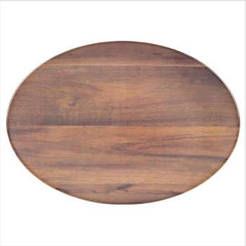 CFSEAG0469 - Carlisle - EAG0469 - 18 in Epicure ® Acacia Grain Oval Platter Product Image