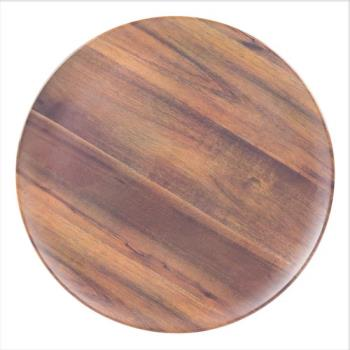 CFSEAG0669 - Carlisle - EAG0669 - 18 in Epicure® Acacia Grain Round Platter Product Image