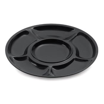 GETAPS6BK - GET Enterprises - APS-6-BK - Milano Black 14 in Plate Product Image