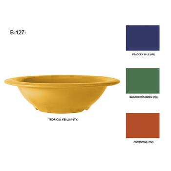 GETB127PB - GET Enterprises - B-127-PB - Mardi Gras Peacock Blue 12 oz Bowl Product Image