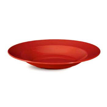 GETB1611CR - GET Enterprises - B-1611-CR - Harvest Cranberry 16 oz Wide Rim Bowl Product Image