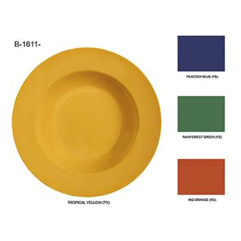 GETB1611MIX - GET Enterprises - B-1611-MIX - 16 oz Mardi Gras Mix Wide Rim Bowl Product Image