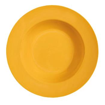 GETB1611TY - GET Enterprises - B-1611-TY - Mardi Gras Tropical Yellow 16 oz Wide Rim Bowl Product Image