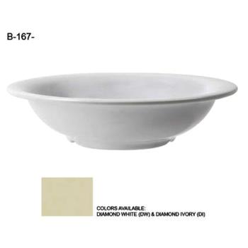 GETB167DW - GET Enterprises - B-167-DW - Diamond White 16 oz Salad Bowl Product Image