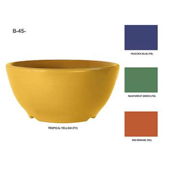 GETB45TY - GET Enterprises - B-45-TY - Mardi Gras Tropical Yellow 10 oz Bowl Product Image