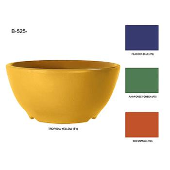 GETB525TY - GET Enterprises - B-525-TY - Mardi Gras Tropical Yellow 16 oz Bowl Product Image