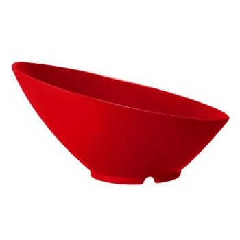 GETB792RSP - GET Enterprises - B-792-RSP - Red Sensation 24 oz Cascading Bowl Product Image