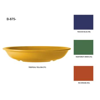GETB875PB - GET Enterprises - B-875-PB - Mardi Gras Peacock Blue 27.9 oz Bowl Product Image