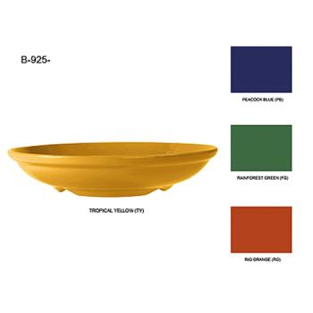 GETB925TY - GET Enterprises - B-925-TY - Mardi Gras Tropical Yellow 1.1 qt Bowl Product Image