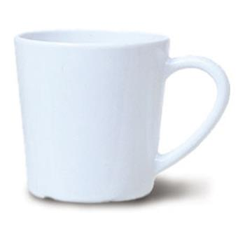 GETC107W - GET Enterprises - C-107-W - Diamond White 8 oz Mug Product Image