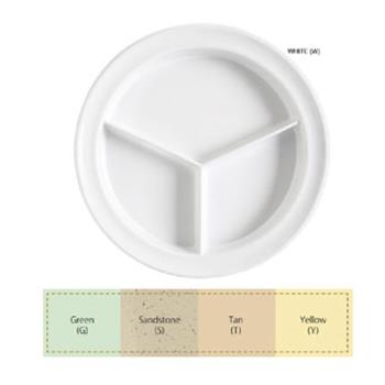 GETCP530G - GET Enterprises - CP-530-G - Supermel I Green 9 in Plate Product Image