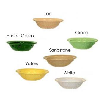 GETDN410HG - GET Enterprises - DN-410-HG - Supermel I Hunter Green 10 oz Grapefruit Bowl Product Image