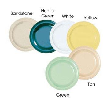 GETDP509HG - GET Enterprises - DP-509-HG - Supermel I Hunter Green 9 in Dinner Plate Product Image