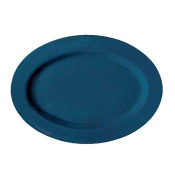 GETM4010TB - GET Enterprises - M-4010-TB - Texas Blue 16 1/4 in Oval Platter Product Image