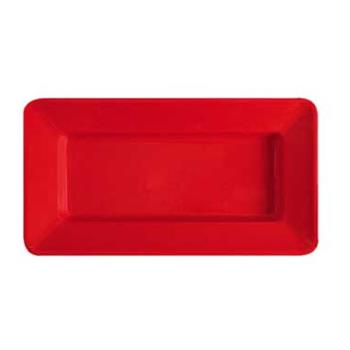 GETML10RSP - GET Enterprises - ML-10-RSP - Milano Red 15 in x 8 in Plate Product Image
