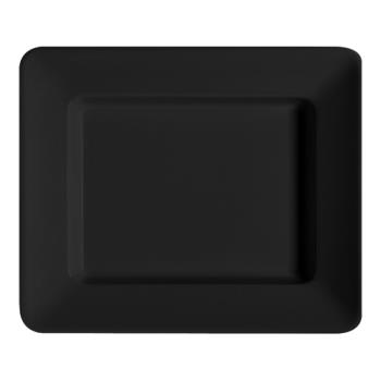 GETML11BK - GET Enterprises - ML-11-BK - Milano Black 12 in x 10 in Plate Product Image