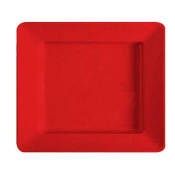 GETML11RSP - GET Enterprises - ML-11-RSP - Milano Red 12 in x 10 in Plate Product Image
