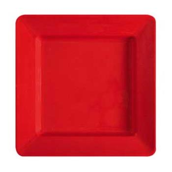 GETML12RSP - GET Enterprises - ML-12-RSP - Milano Red 12 in Square Plate Product Image