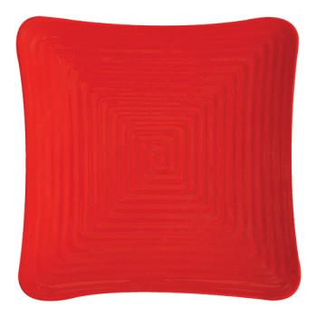 GETML63RSP - GET Enterprises - ML-63-RSP - Red Sensation 10 1/4 in Square Plate Product Image