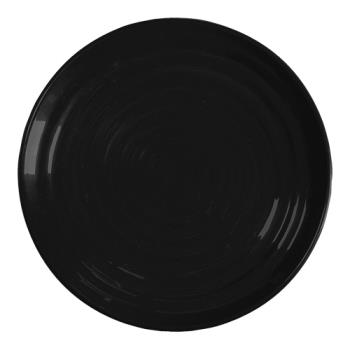 GETML81BK - GET Enterprises - ML-81-BK - Milano Black 9 1/2 in Plate Product Image
