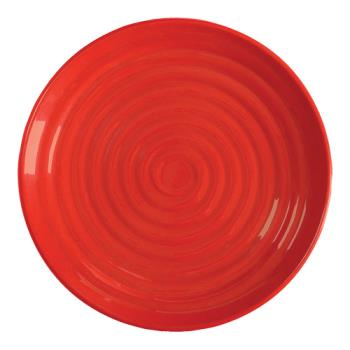 GETML83RSP - GET Enterprises - ML-83-RSP - Milano Red 12 1/2 in Plate Product Image