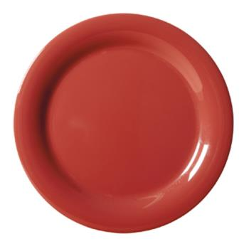 GETNP6CR - GET Enterprises - NP-6-CR - Harvest Cranberry 6 1/2 in Narrow Rim Plate Product Image