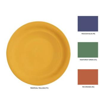 GETNP7MIX - GET Enterprises - NP-7-MIX - Mardi Gras Mix 7 1/4 in Narrow Rim Plate Product Image
