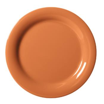 GETNP7PK - GET Enterprises - NP-7-PK - Harvest Pumpkin 7 1/4 in Narrow Rim Plate Product Image