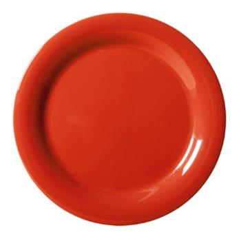 GETNP9RSP - GET Enterprises - NP-9-RSP - Red Sensation 9 in Narrow Rim Plate Product Image