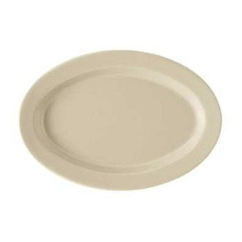 GETOP115S - GET Enterprises - OP-115-S - Tahoe 11 1/2 in Oval Platter Product Image