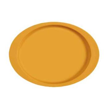 GETOP145TY - GET Enterprises - OP-145-TY - Mardi Gras Tropical Yellow 14 3/4 in Oval Platter Product Image
