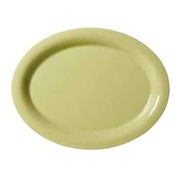 GETOP950AV - GET Enterprises - OP-950-AV - Harvest Avocado 9 3/4 in Oval Platter Product Image