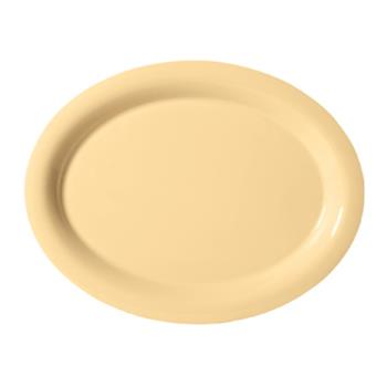 GETOP950SQ - GET Enterprises - OP-950-SQ - Harvest Squash 9 3/4 in Oval Platter Product Image