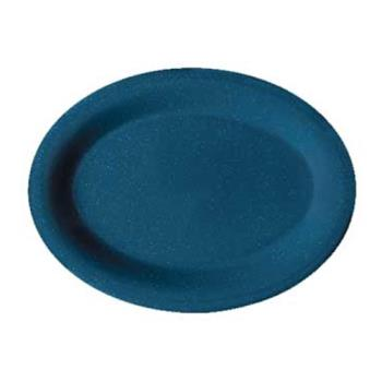 GETOP950TB - GET Enterprises - OP-950-TB - Texas Blue 9 3/4 in Oval Platter Product Image