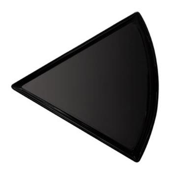 GETPZ85BK - GET Enterprises - PZ-85-BK - Let's Party Black 8 1/2 in Pizza Plate Product Image