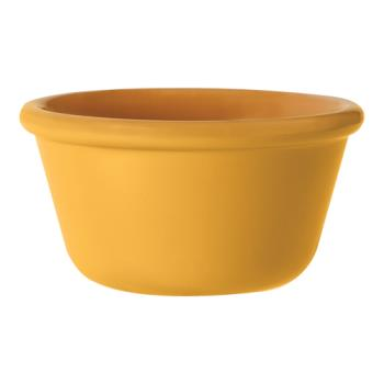 GETRM388TY - GET Enterprises - RM-388-TY - Mardi Gras Tropical Yellow 3 oz Ramekin Product Image