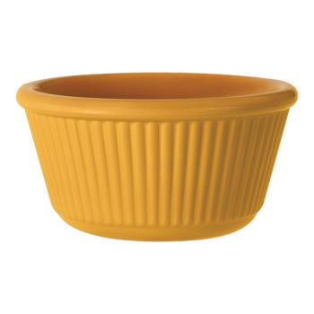 GETRM389TY - GET Enterprises - RM-389-TY - Mardi Gras Tropical Yellow 3 oz Fluted Ramekin Product Image