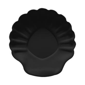 GETSH12BK - GET Enterprises - SH-12-BK - Let's Party Black 12 in Shell Plate Product Image