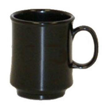 GETTM1308BK - GET Enterprises - TM-1308-BK - Black Elegance 8 oz Stacking Mug Product Image