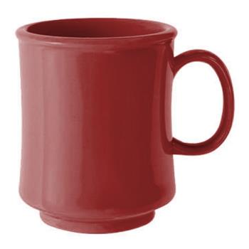 GETTM1308CR - GET Enterprises - TM-1308-CR - Harvest Cranberry 8 oz Stacking Mug Product Image