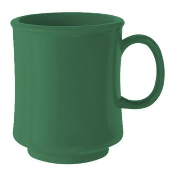 GETTM1308FG - GET Enterprises - TM-1308-FG - Mardi Gras Forest Green 8 oz Stacking Mug Product Image