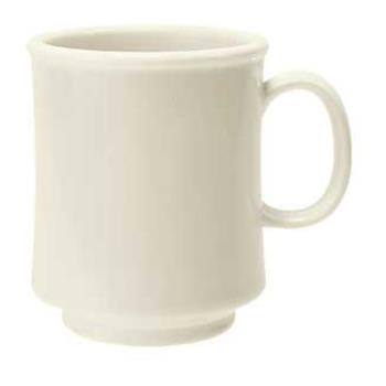 GETTM1308IV - GET Enterprises - TM-1308-IV - Diamond Ivory 8 oz Stacking Mug Product Image