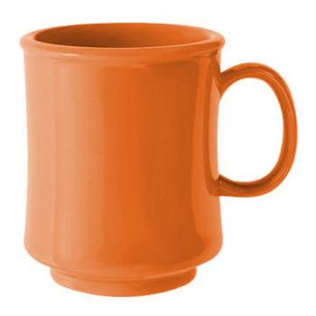 GETTM1308PK - GET Enterprises - TM-1308-PK - Harvest Pumpkin 8 oz Stacking Mug Product Image