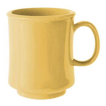 GETTM1308SQ - GET Enterprises - TM-1308-SQ - Harvest Squash 8 oz Stacking Mug Product Image