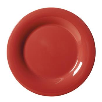 GETWP10CR - GET Enterprises - WP-10-CR - Harvest Cranberry 10 1/2 in Wide Rim Plate Product Image